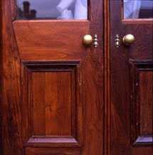 These oak doors were restored using Raw Linseed Oil u0026 Linseed Oil Wax. & Linseed Oil Maintenance Wax
