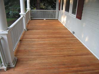 Wood Decks Linseed Oil On Wood Decks