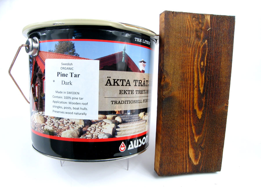 Genuine Pine Tar: 100% Organic authentic Stockholm pine tar