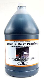 Vehicle Rust Proofing