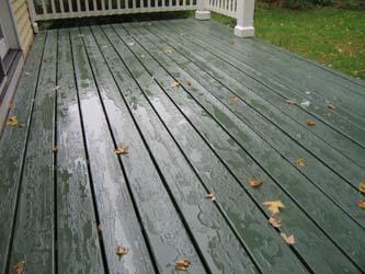 Porches Amp Decks Linseed Oil Paint Case Study