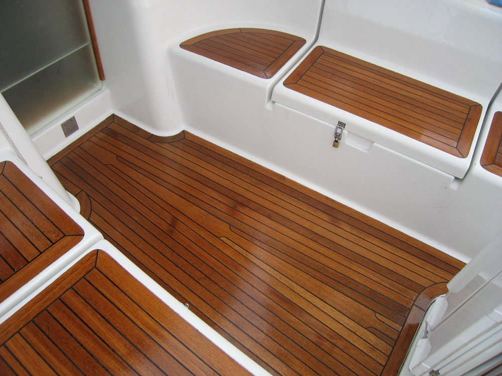 Boat Cockpit Maintenance With Organic Linseed Oil Soap